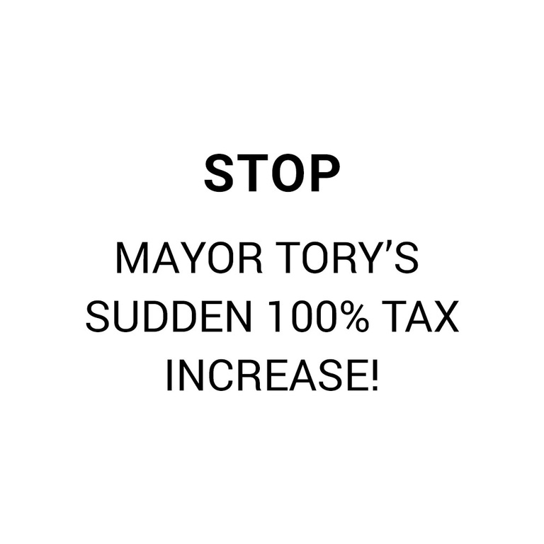 Stop Mayor Tory